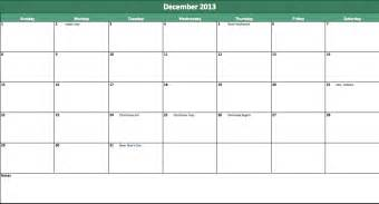 2014 annual calendar template free annual calendar 2013