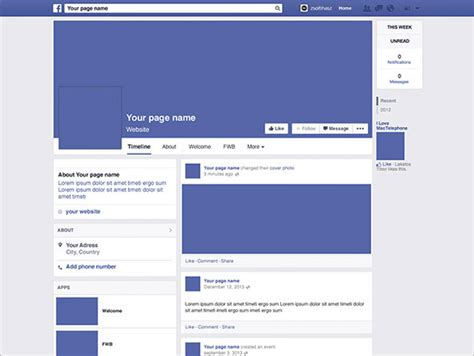 free facebook templates ins ssrenterprises co