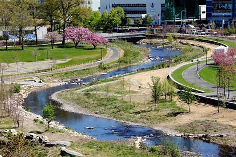 Landscape Architecture Olin Mill River Park And Greenway By Olin 171 Landscape