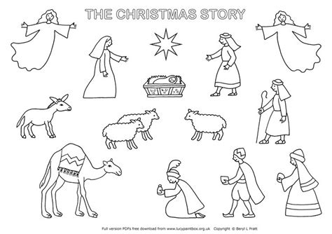 nativity diorama coloring pages 105 best images about angels on pinterest angels tea