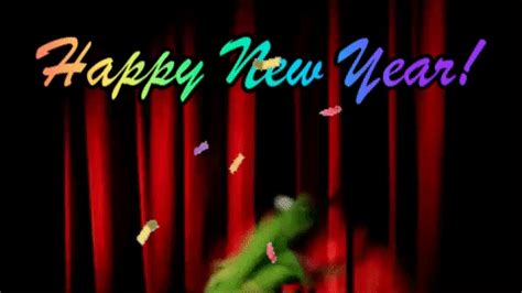happy new year gif new year kermit gif find on giphy