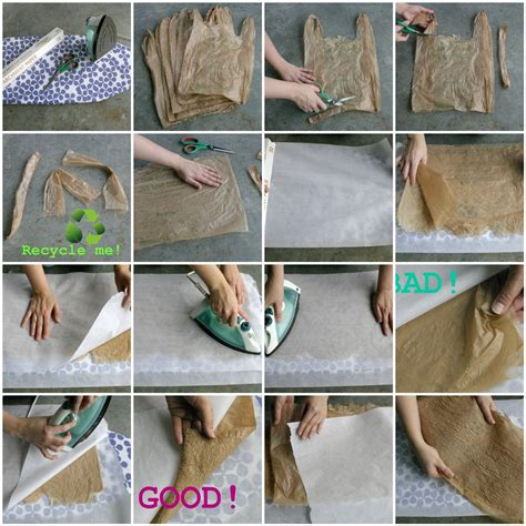 How To Make Paper Like Plastic - dabbled tutorial fusing plastic or how to make