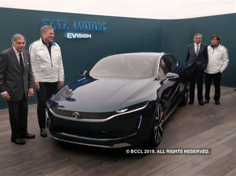 e visio tata motors tata motors unveils all electric e vision