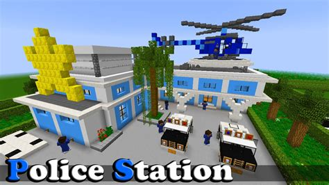 minecraft police minecraft police station from city island 3 youtube