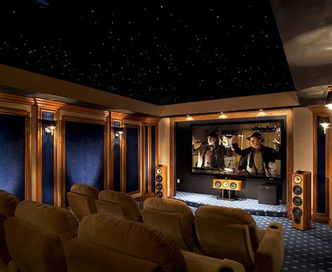 beautiful theater with starry ambience