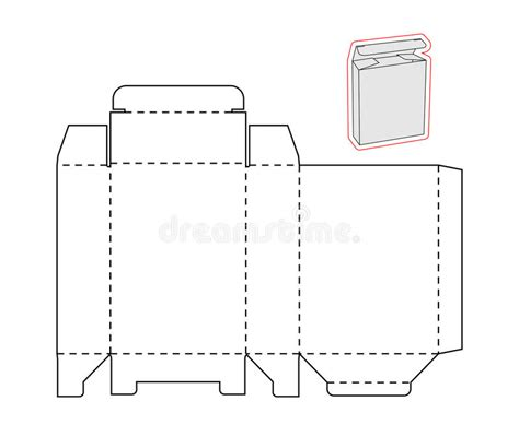 card board templates for steel template of a simple box cut out paper or cardboard stock