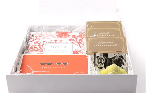 Wedding Welcome Box by Tropical Wedding Welcome Gift And Diy Treat Bags Julep