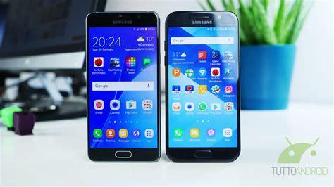 Samsung Galaxy A Di samsung galaxy a5 2017 vs galaxy a5 2016 due generazioni