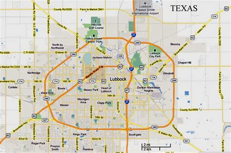 lubbock texas on a map lubbock texas map