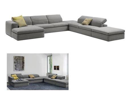 adjustable back sectional sofa modern sectional sofa with adjustable back made