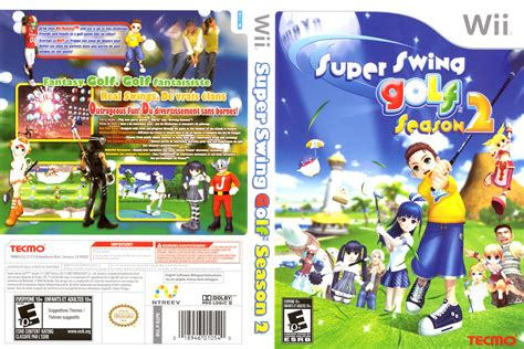 super swing golf season 2 iso car 225 tula de super swing golf season 2 para wii caratulas
