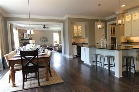 open kitchen dining room floor plans open concept kitchen living room design ideas sortra