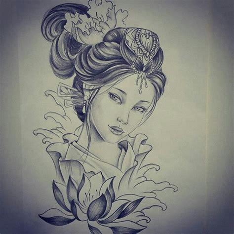 oriental geisha tattoo designs makaivio gama desenhos tattoos pinterest tattoo