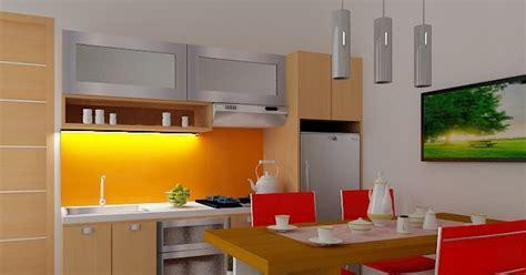 Rak Makan kitchenset pelangi desain interior dapur minimalis dapur sempit kitchen set apartemen