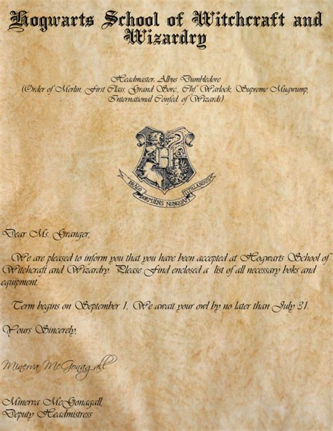 free printable harry potter acceptance letter 9 hogwarts acceptance letter font images hogwarts acceptance letter template hogwarts