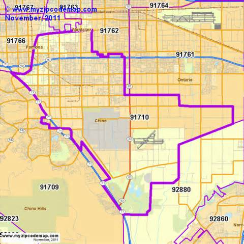 zip code map of 91710 demographic profile residential