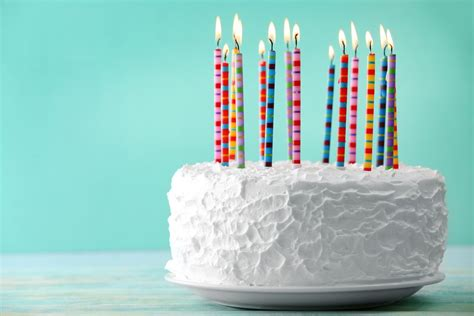 Cake Candle make a wish blowing birthday candles boosts bacteria on cake