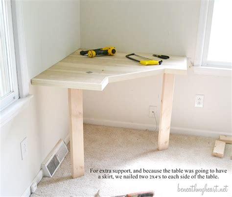 Small Corner Vanity Table Diy Dressing Table Beneath My