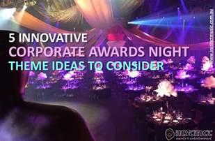 corporate theme ideas innovative corporate awards theme ideas