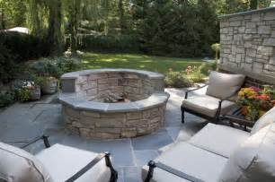 gas fire pit contemporary patio