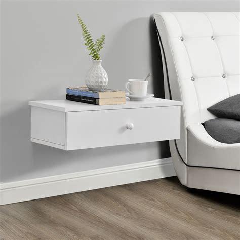 lade comodino design en casa appesa comodino bianco console muro cassettiera da