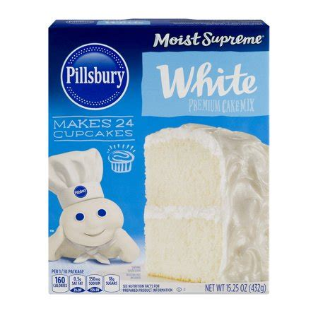 pillsbury premium cake mix white  oz walmartcom
