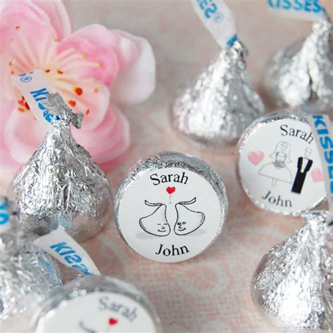 personalized hershey kisses for wedding personalized wedding hershey s kisses fashionbridesmaid