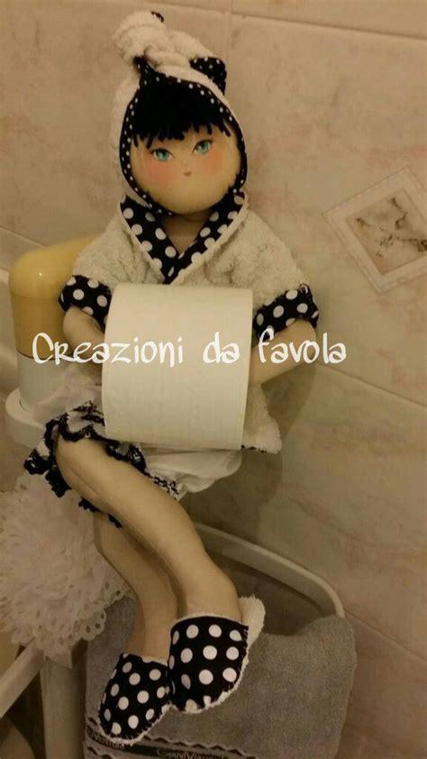 porta rotolo bambola porta rotolo carta igienica per la casa e per te