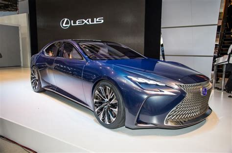 lexus lf fc lexus lf fc fuel cell concept to go on sale before