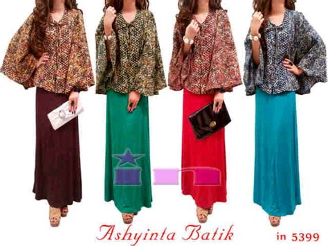 Batik Nimas Batwing Dan Kemeja Murah maxi terbaru keranjangpakaian pusat busana