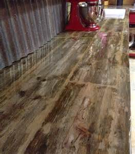 Barn Wood Countertops by Reclaimed Barn Wood Countertops Just A Lil
