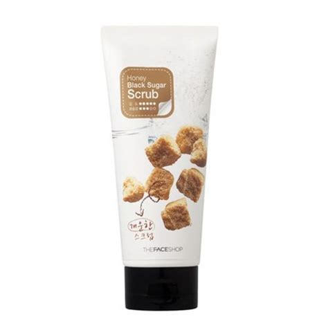 Scrub The Shop the shop smart peeling honey black sugar scrub best korean skincare product malaysia