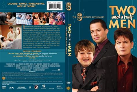 Two Season6 two and a half season 6 tv dvd scanned covers two