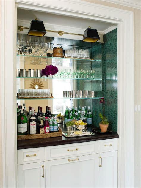 mirrored backsplash decor ideas pinterest antiqued mirrored backsplash traditional living room