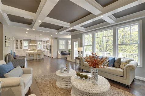 Stunning Living Rooms with Crown Molding   Elvira Sima