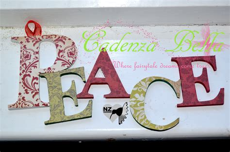 wooden christmas letters and words cadenza bella boutique