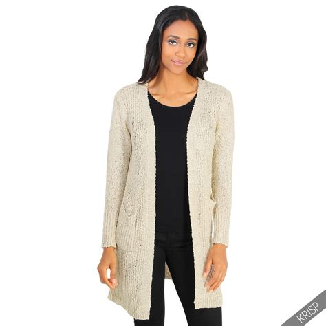 womens sweaters womens cable knitted boyfriend cardigan open