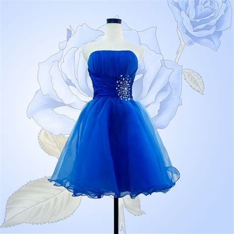 dress design royal blue 2015 new arrival short prom dress royal blue with crystal