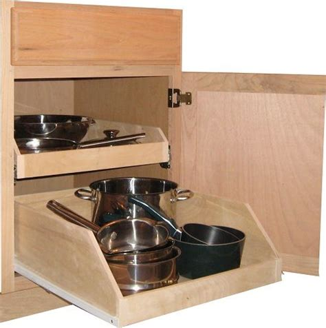 Pull Out Drawers For Pots And Pans by Pull Out Pots And Pans Storage Kitchen Design Pan Storage Shelves And Storage