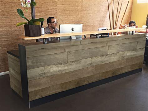 commercial reception desks mercial reception desks willsns architectural millwork