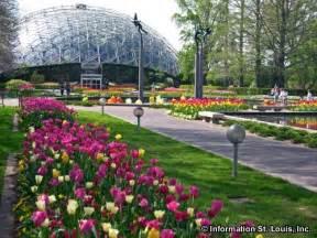Mo Botanical Gardens Missouri Botanical Garden In St Louis City