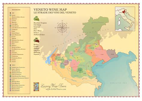 www veneto veneto wine region map 187 cellartours