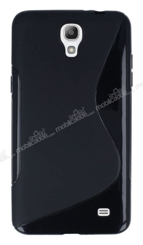 Silicon Samsung Mega 2 samsung galaxy mega 2 desenli siyah silikon k箟l箟f