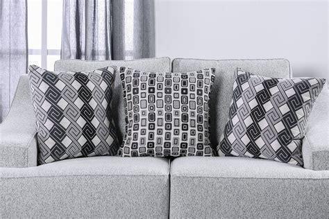 light grey chenille sofa lesath contemporary style light gray chenille fabric 2pc
