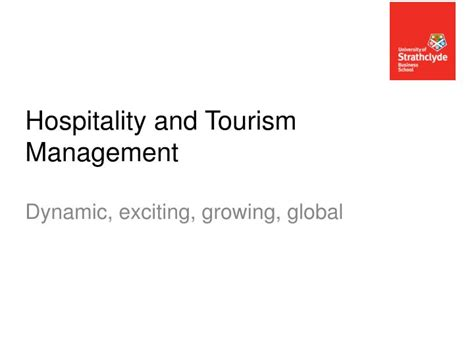 Mba In Hospitality And Tourism Management In Usa by Ppt Hospitality And Tourism Management Powerpoint