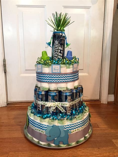 craft beer cake beer and diaper cake crafts pinterest diapers cake