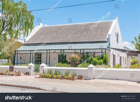 south african old house music prince albert south africa january 2 2015 historic old house in a street scene in