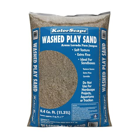 4 cu ft washed play sand 40105130 the home depot