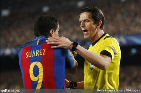 barcelona referee chions league psg send letter to uefa listing every