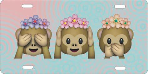 Eheringe Emoji by Pics For Gt Hear See Speak No Evil Emoji